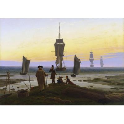 Puzzle Grafika-00418 Caspar David Friedrich: Les Âges de la Vie, 1834