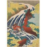 Puzzle  Grafika-00429 Katsushika Hokusai: La cascade de Yoshino, 1833