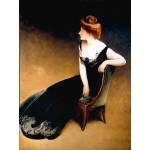 Puzzle  Grafika-00446 John White Alexander: Portrait of Mrs. V, Mrs. Herman Duryea, 1898