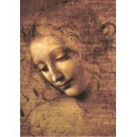 Puzzle  Grafika-00461 Leonardo da Vinci: La Scapigliata, 1508