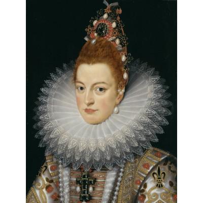 Puzzle  Grafika-00463 Frans Pourbus le Jeune: L'infante Isabelle d'Espagne, XVIIe Siècle