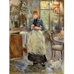 Puzzle  Grafika-00475 Berthe Morisot: Dans la Salle à Manger, 1875