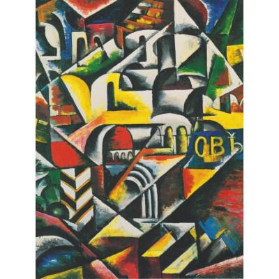 Puzzle Grafika-00490 Lyoubov Popova: Paysage Urbain Cubiste, 1914
