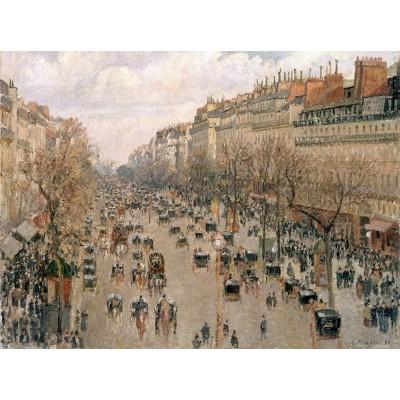 Puzzle Grafika-00512 Camille Pissarro: Boulevard Montmartre, 1897