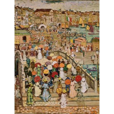 Puzzle Grafika-00552 Maurice Prendergast: Le Pont de la Paille, 1922