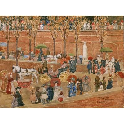 Puzzle  Grafika-00556 Maurice Prendergast: Le Pincio - Rome, 1898