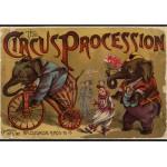 Puzzle  Grafika-00557 McLoughlin Bros: The Circus Procession, 1888