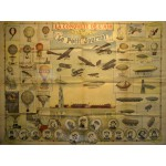 Puzzle  Grafika-00621 Dépliant du Petit Journal pour la Grande Semaine de l'aviation de Champagne, 1909
