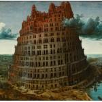 Puzzle  Grafika-00624 Brueghel: Der Turm zu Babel