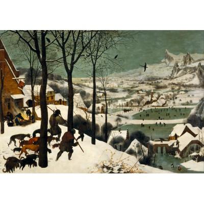 Puzzle  Grafika-00625 Brueghel: Die Heimkehr der Jäger