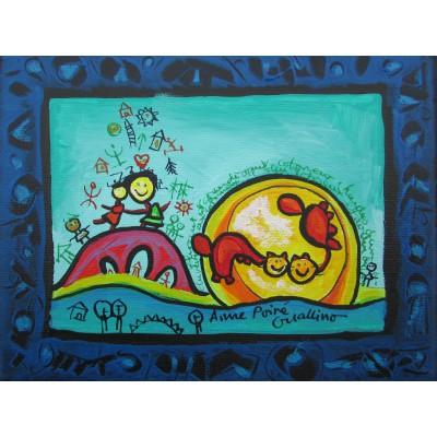 Puzzle  Grafika-00664 Anne Poiré & Patrick Guallino - Rencontre vers la Poésie