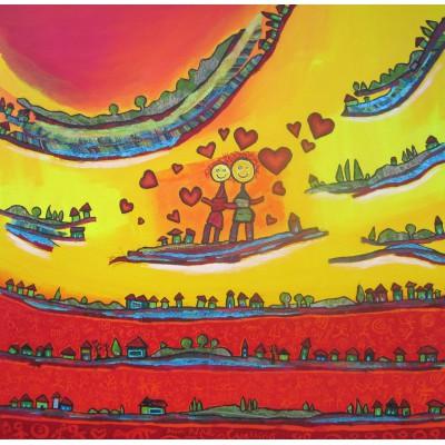 Puzzle  Grafika-00670 Anne Poiré & Patrick Guallino - Tendre est le Jour