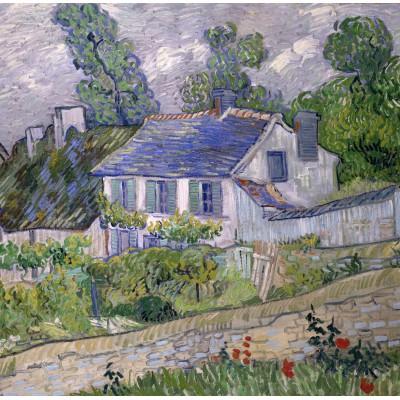 Puzzle Grafika-00683 Van Gogh Vincent: Maison à Auvers, 1890