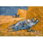 Puzzle  Grafika-00691 Van Gogh Vincent: La Sieste (d'après Millet), 1890