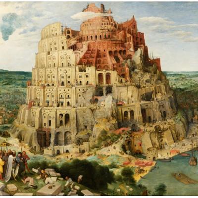 Puzzle Grafika-00704 Brueghel Pieter: Der Turmbau zu Babel, 1563