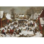 Puzzle  Grafika-00705 Brueghel Pieter: Der Bethlehemitische Kindermord, 1566