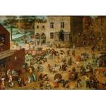 Puzzle  Grafika-00708 Brueghel Pieter: Die Kinderspiele, 1560