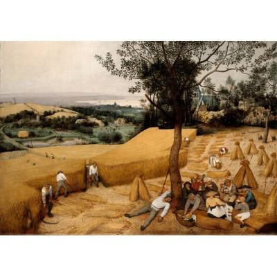 Puzzle  Grafika-00716 Brueghel Pieter: Die Kornernte, 1565