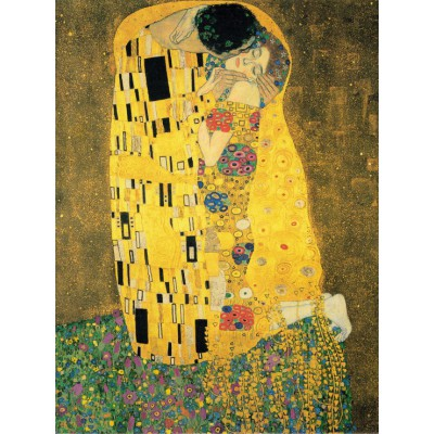 Puzzle  Grafika-00723 Klimt Gustav: Der Kuss, 1907-1908