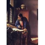 Puzzle  Grafika-00742 Vermeer Johannes: Der Geograph, 1668-1669