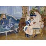 Puzzle  Grafika-00747 Auguste Renoir: L'après-midi des enfants à Wargemont, 1884