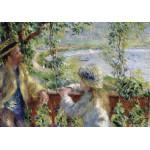 Puzzle  Grafika-00748 Renoir Auguste: Près du Lac, 1879