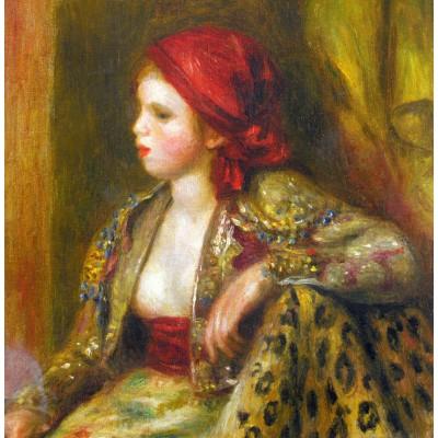 Puzzle  Grafika-00750 Renoir Auguste: Odalisque, 1895