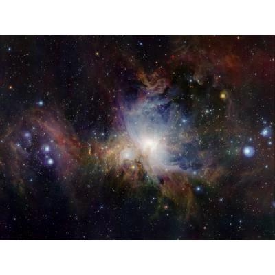 Puzzle  Grafika-00763 Infrarotansicht des Orionnebels