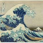 Puzzle  Grafika-00772 Katsushika Hokusai: Die große Welle vor Kanagawa, 1826-33