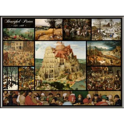 Puzzle  Grafika-00835 Collage - Pieter Bruegel der Ältere