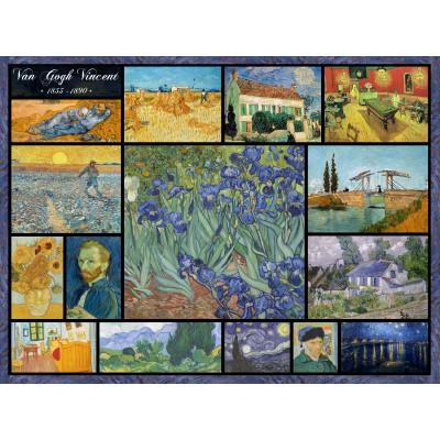 Puzzle Grafika-00837 Collage - Vincent Van Gogh