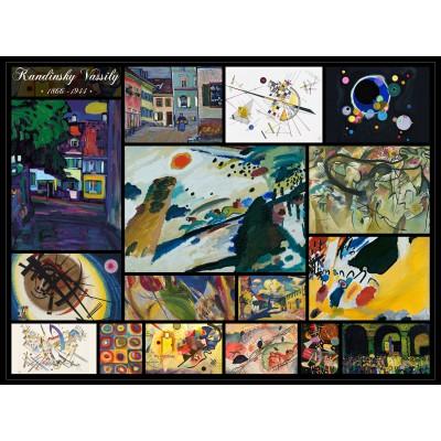 Puzzle Grafika-00843 Vassily Kandinsky - Collage
