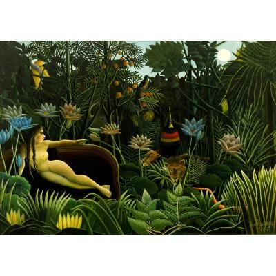 Puzzle Grafika-00852 Henri Rousseau: The Dream, 1910