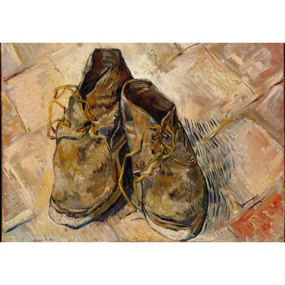 Puzzle  Grafika-00865 Van Gogh: Shoes, 1888