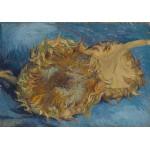Puzzle  Grafika-00866 Van Gogh: Die Sonnenblumen, 1887