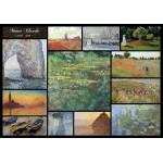 Puzzle  Grafika-00873 Claude Monet - Collage