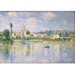 Puzzle  Grafika-00881 Claude Monet: Vétheuil im Sommer, 1880