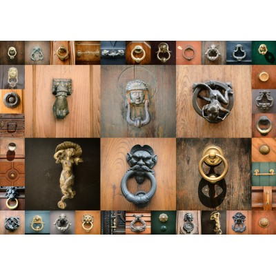 Puzzle  Grafika-00936 Collage - Türen