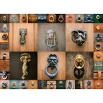 Puzzle  Grafika-00937 Collage - Türen