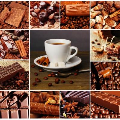 Puzzle  Grafika-00967 Kaffee