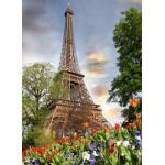Puzzle  Grafika-01027 Eiffelturm, Frankreich
