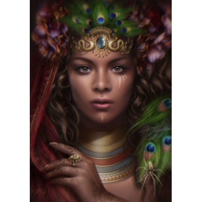 Puzzle  Grafika-01054 Queen of the Sun Realm