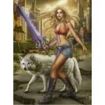 Puzzle  Grafika-01073 The Wolf's Sword