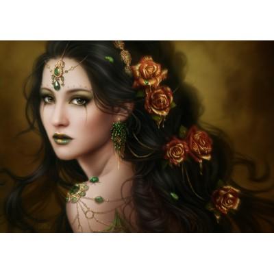 Puzzle  Grafika-01100 Golden Rose