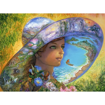 Puzzle  Grafika-01105 Hat of Timeless Places