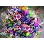 Puzzle  Grafika-01136 Schmetterlinge