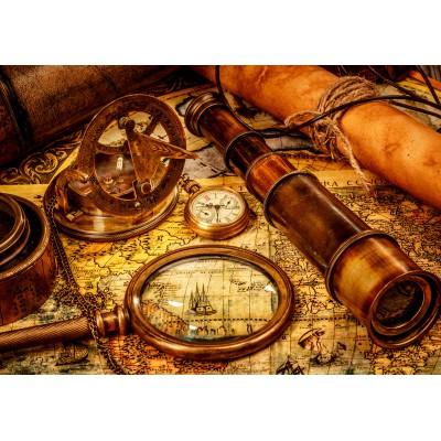 Puzzle  Grafika-01146 Vintage Travel