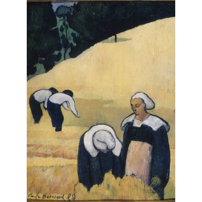 Puzzle  Grafika-01161 Emile Bernard: La Moisson, 1888