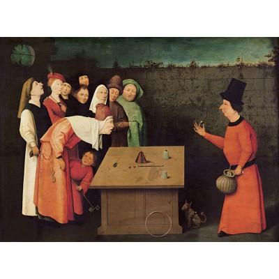 Puzzle  Grafika-01163 Bosch: Der Gaukler, 1502