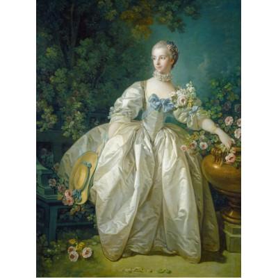 Puzzle  Grafika-01166 François Boucher: Madame Bergeret, 1766